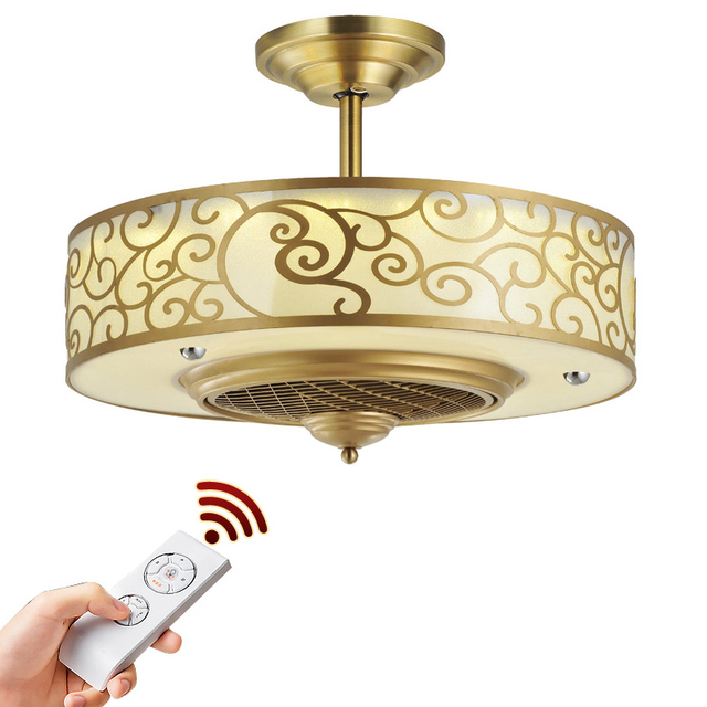 Led nordic iron acrylic copper ceiling fanled lampled light led nordic iron acrylic copper ceiling fanled lampled lightceiling lights aloadofball Image collections