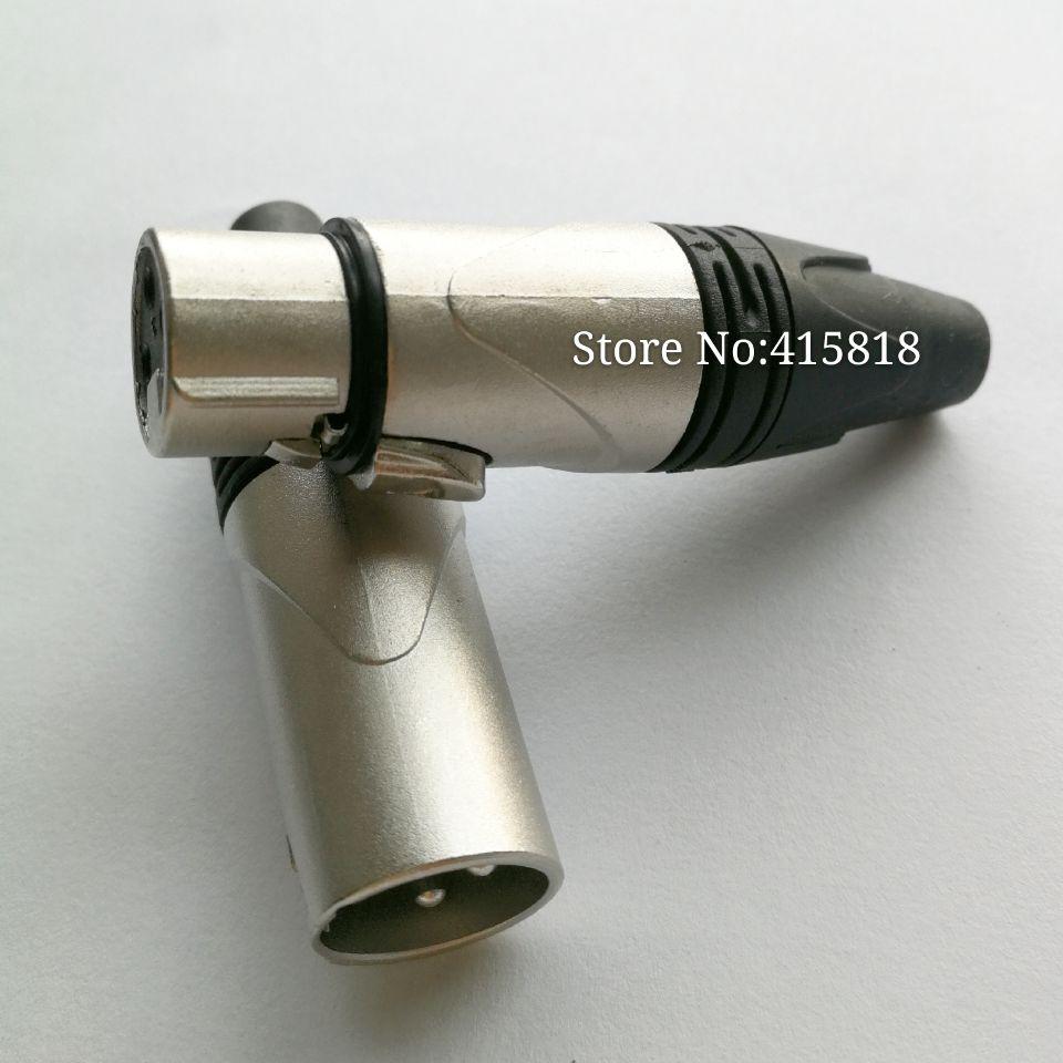 20PCS/lot (10pcs Female+10pcs Male ) Neutrik Design Cannon XLR Connector Plug Jack