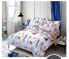 UNIHOME HOT Promotion !Free Shipping Reactive Printing Bedding Set duvet cover set Bed linen Sheet Bedding promotion 5pcs crib bedding piece set outerwear baby bedding bed around 4bumpers sheet