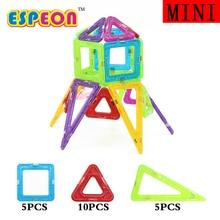 2017 20PCS Rocket Mini Size Enlighten Bricks Educational Magnetic Designer Toy DIY Building Blocks Bricks Toys for Children Kids