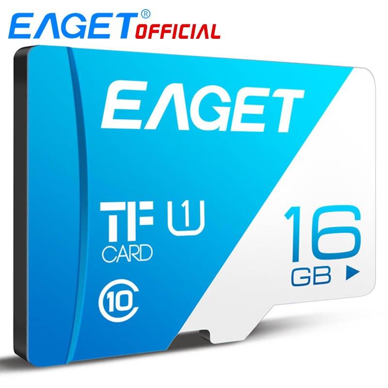 EAGET T1 Micro SD Card Class10 128GB Memory Card 32GB 16GB Micro SDXC TF Card 64GB