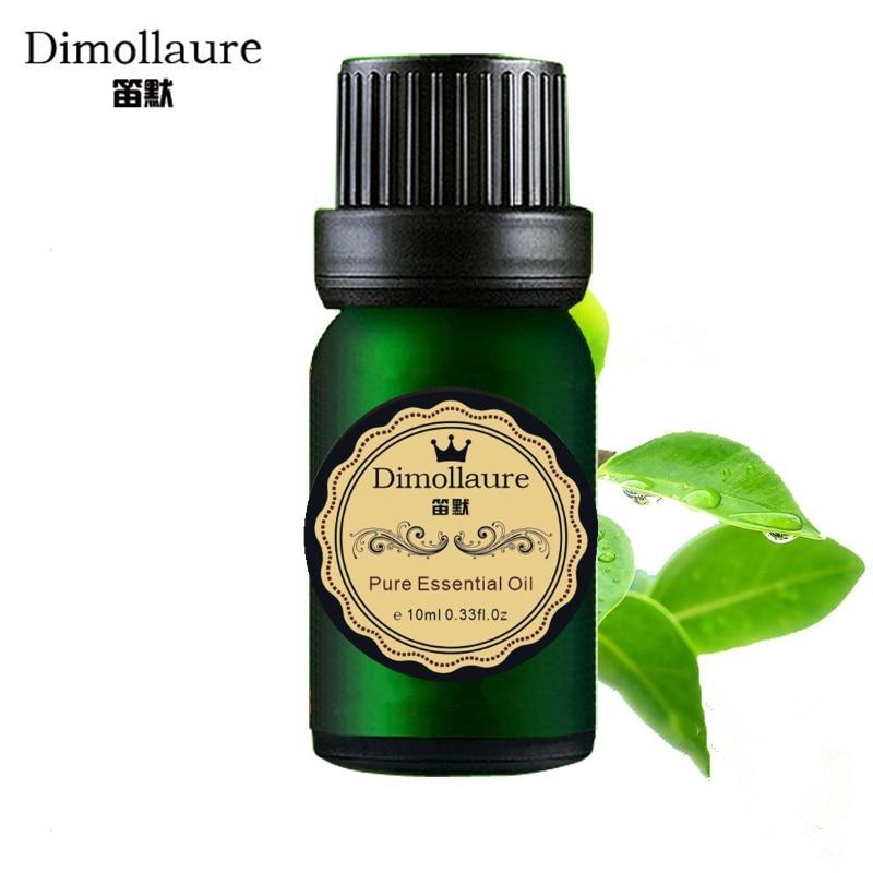 Dimollaure čajový olej Esenciální olej péče o pokožku vůně lampa zvlhčovač koření aromaterapie esenciální olej masážní olej na obličej