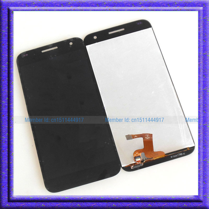 Black LCD Display Screen + Touch Digitizer Glass Assembly For Huawei Ascend G7 G7-L01 G7-L03 replacement original touch screen lcd display assembly framefor huawei ascend p7 freeshipping
