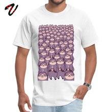 Man T Shirt Latest Fashionable Tops & Tees Lazy Sloth Animal DAY Hip Hop T-shirts Summer Short Sleeve Slothtastic! Team Tshirt