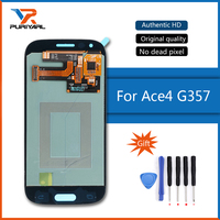 Ace4 AMOLED LCDS For Samsung Galaxy Ace 4 SM G357 G357 G357FZ LCD Display Touch Screen Digitizer Assembly Replacement