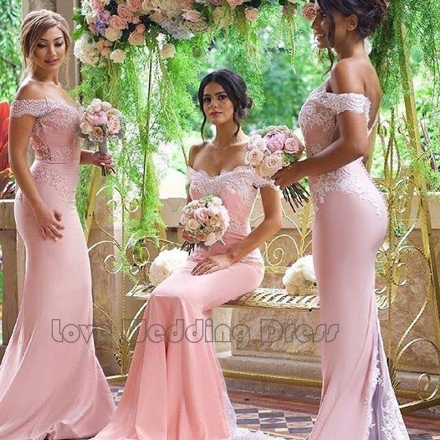 Graceful Taffeta Appliques Prom Gown Long Party font b Dress b font Sexy font b Bridesmaid