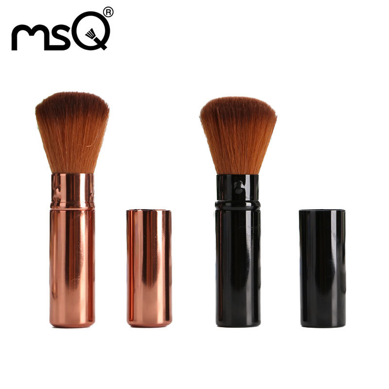 Blush Brush Makeup Brushes Professional Makeup Brushes Cosmetic Tools For Make Up Synthetic Hair Brush Metal Handle Make-up Tool addfavor acrylic handle beauty cosmetic face clean mask brushes eyes skin care make up tools soft makeup synthetic hair brush