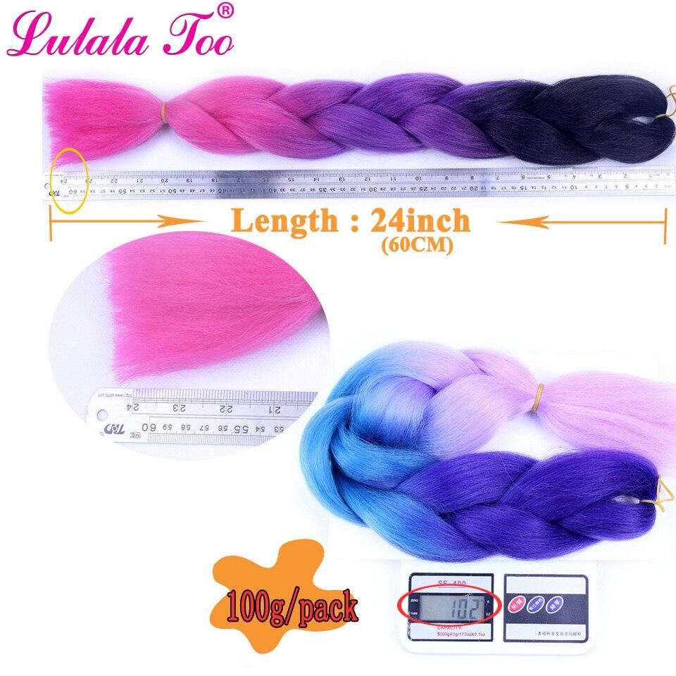 croche 100 g pc extensoes de cabelo azul rosa cinza africano 04
