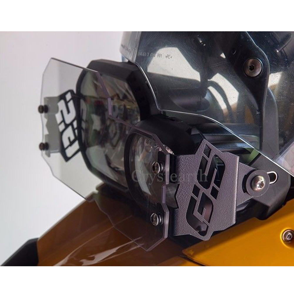 Headlight Guard GS Style Clear Front Lamp Protector Cover For BMW F650GS 2008-2013 F700GS /F800GS 2008-2016 2009 2010 2011 2012