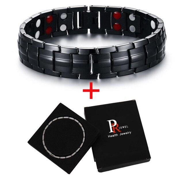 Titanium Black Bracelets...