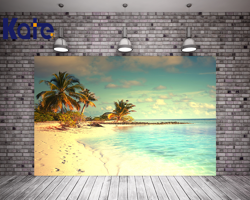 Kate Photo Backdrop Scenic Beach Photography Backdrops Blue Sky White Cloud Scenic Photography Backdrops For Children Or Wedding blue sky чаша северный олень