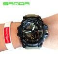 Цифровые Часы Спорт Военная Часы Автоматические водонепроницаемые часы Моды Смотреть высококачественные часы армия наручные часы военные шок