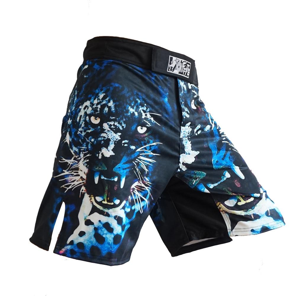 FFITE MMA Boxe Fitness Sports Squat Personnalité Lutte Shorts tiger muay Thai Pantalon De Boxe mma Fight shorts court mma sanda