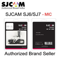 100 Original SJCAM Camera Accessory External Mic Microphone For SJCAM SJ6 Legend SJ7 Star SJ360 Sports