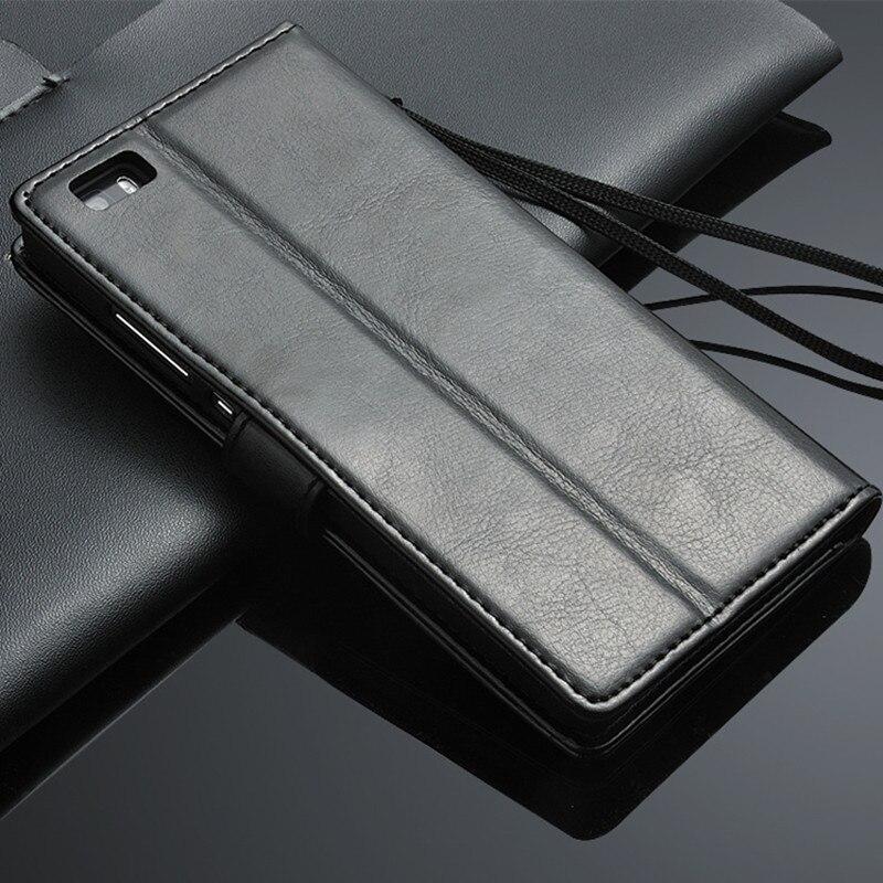 Funda Huawei P8 lite 2017 Crazy horse Funda Huawei P9 Lite 2017 Cuero - Accesorios y repuestos para celulares - foto 5