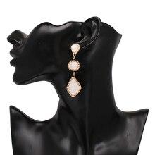JUJIA Brand Earrings For Women Vintage Geometric Statement Drop Earrings 2018 Hot Party Wedding Jewelry