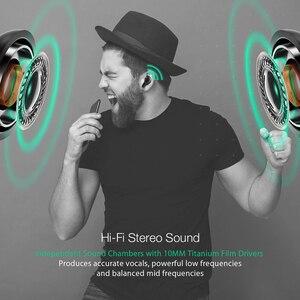 Image 4 - Blitzwolf bluetooth V5.0 TWS kablosuz kulaklık Stereo kulaklık su geçirmez mikrofon spor kulaklık telefon için şarj kutusu ile