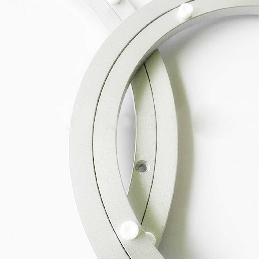 7 sólida Tamanhos Rotating Turntable Placa Giratória Do Rolamento de Alumínio Para A Decoração Do Bolo Escultura Base de TV Monitor de Suporte de Reparo Eletrônico