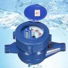 Малый размер 15 мм пластиковый ротор тип холодной воды стол Сад домашний счетчик воды