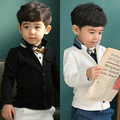 Retail 1pc New Baby Boys coat long sleeve jackets children kid gentlemen outerwear fashion boy coats suit 2 - 7 yrs