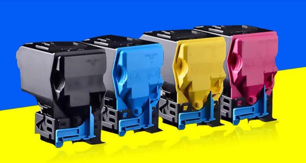 4pc new Compatible Printer color Toner Cartridge For epson C3900DN C3900DTN CX37DN CX37 Copier toner kit printer consumable kcmy