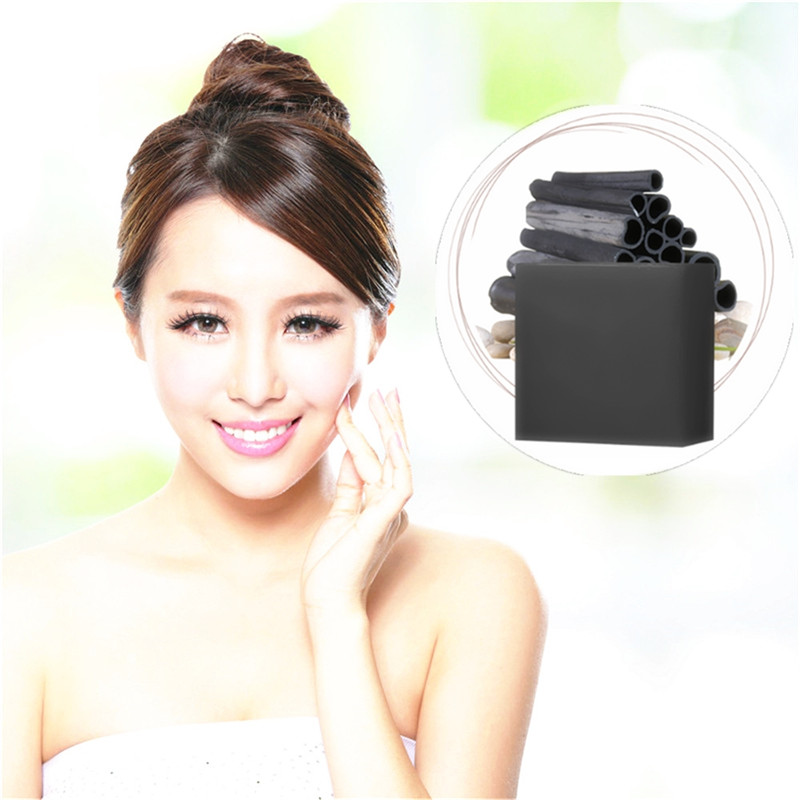 2019 New Style DISAAR Blackhead Remover Nose Pores Grease Dirt Cleaning Handmade Soap Bamboo Charcoal Acne Treatment Skin Care