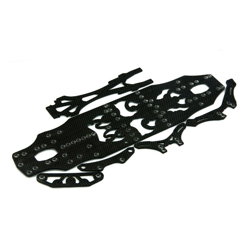 1 Set Newly Carbon Chassis Set for RC Sakura D4 1/10 Sakura D4 RWD AWD Sport Car Free Shipping юбка для девочки ge520408 разноцветный gaialuna page 5