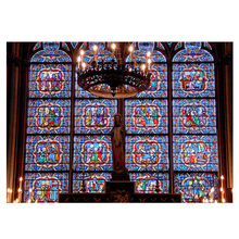 DIY Diamond Painting Notre Dame De Paris Glasses Dimaond Embroidery Mosaic
