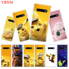 Pikachue Movie Popular Soft Phone Case For Samsung Galaxy S10 Plus S10E A50 A70 A30 A10 A20E M30 M20 M10 A20 A80 A40 A60 Cover