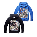 cute causal boy coat sweatshirt Jurassic World dinosaur pattern hoodie coat for 6-14yrs boys kids children outerwear clothes hot