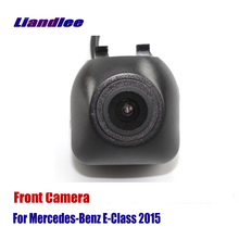 Liandlee AUTO CAM Car Front View Camera Logo Embedded For Mercedes Benz E-Class 2015 ( Not Reverse Rear Parking )