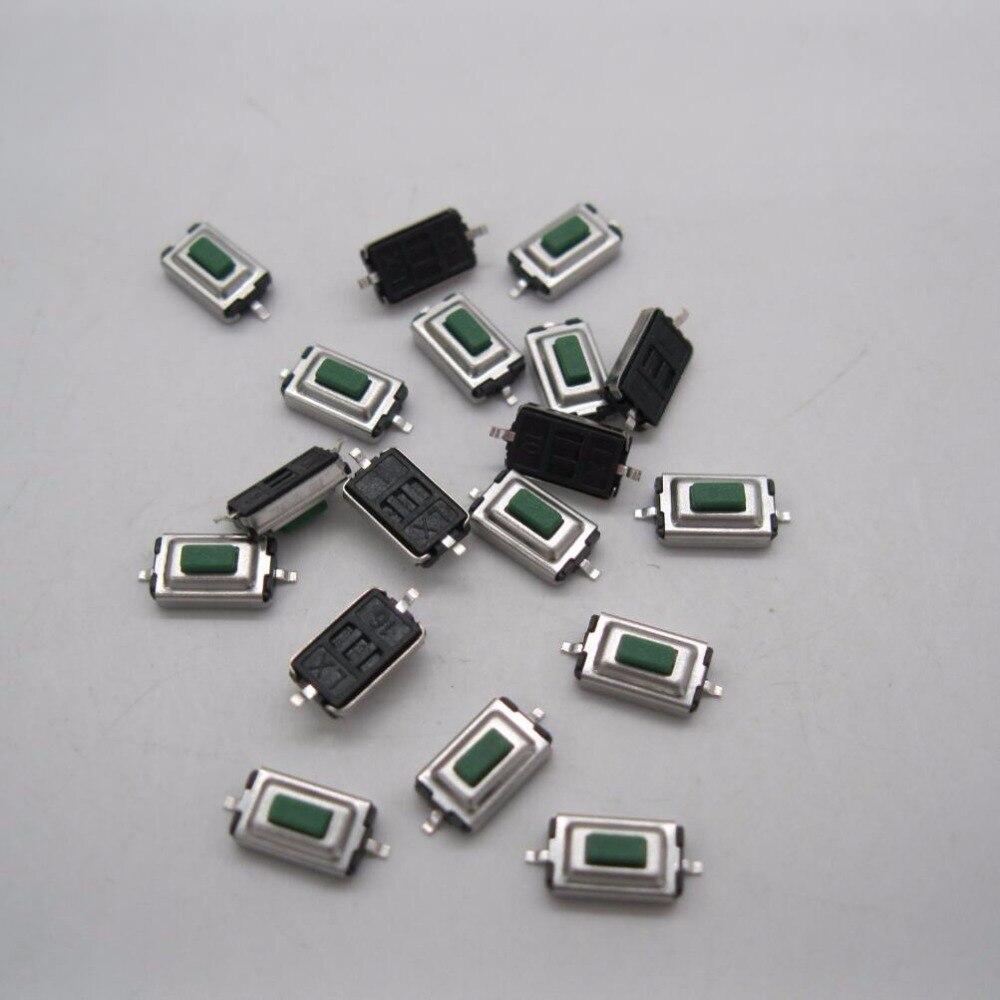 100Pcs High Quality 3x6x2.5mm SMD green Push Button Switch ...