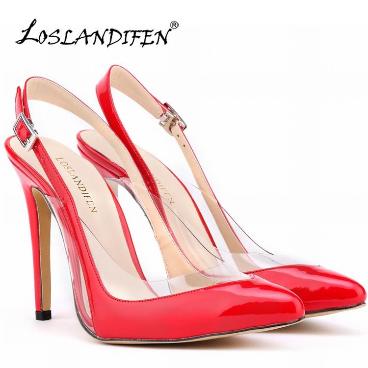 Nya mode skor kvinna sexiga höga klackar plattform kvinnor pumpar 11cm damskor dam sapatos feminino Storlek 35-42 302-29PA