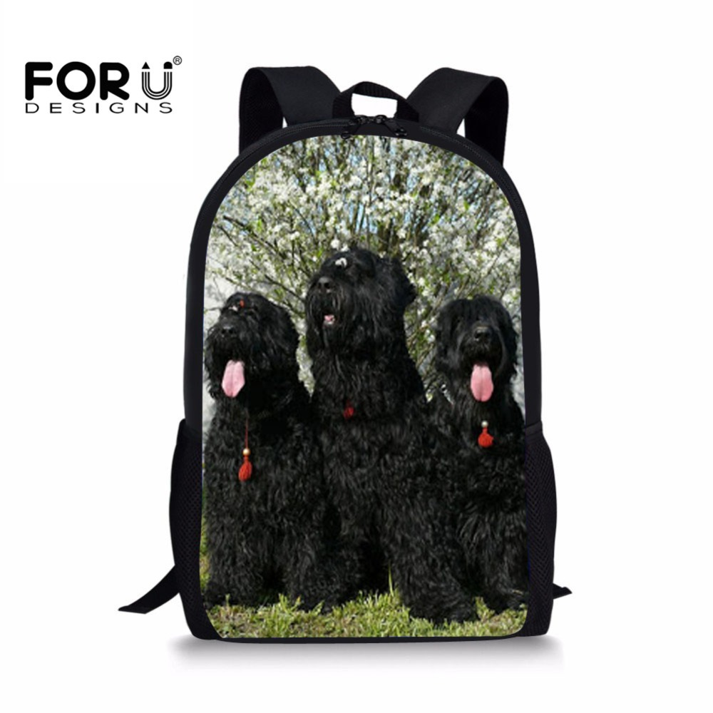 Kids & Baby's Bags School Bags Customized Girls Casual Daypack School Bags For Teenagers King Charles Spaniel Dog Printing School Backpack Children Book Bag