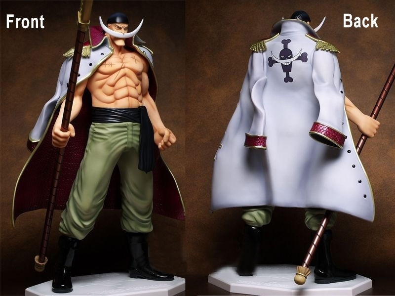 Anime Doll One Piece The Top War NEUF ANIME Edward Newgate White Beard Figure Model rollercoasters the war of the worlds