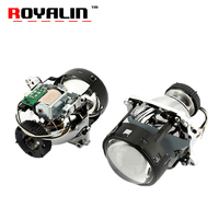 ROYALIN AL Bi Xenon Projector Headlights Lens D2S For BMW E46 E39 E60 X5 E70 Audi A3 A4 Mercedes W203 W204 VW Golf GTI Touran