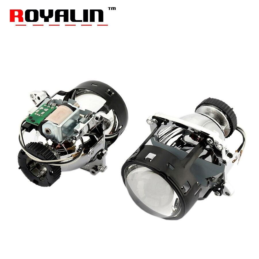 ROYALIN D2S AL Lente Bi Xenon Projetor Faróis Para BMW E46 E39 E60 X5 E70 Audi A3 A4 Mercedes W203 w204 VW Golf GTI Touran