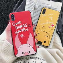 3D Cartoon Emboss Case For Samsung Galaxy A50 A30 A40 A70 A3 A5 A7 A6 A8 S6 S7 Edge S8 Plus M30 M20 M10 Note 4 8 9 Soft TPU Capa(China)