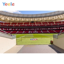 цена на Yeele Atletico Madrid Football Field Player Channel Meeting Child Photography Backgrounds Photography Backdrops For Photo Studio
