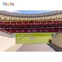 цена Yeele Atletico Madrid Football Field Player Channel Meeting Child Photography Backgrounds Photography Backdrops For Photo Studio онлайн в 2017 году