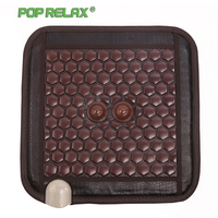 Poprelax Thermotherapy Stone Medical Seat Mattress Haemorrhoid Patient Ion Jade Chair Cushion Health Massage Pad Mat Tools 4545