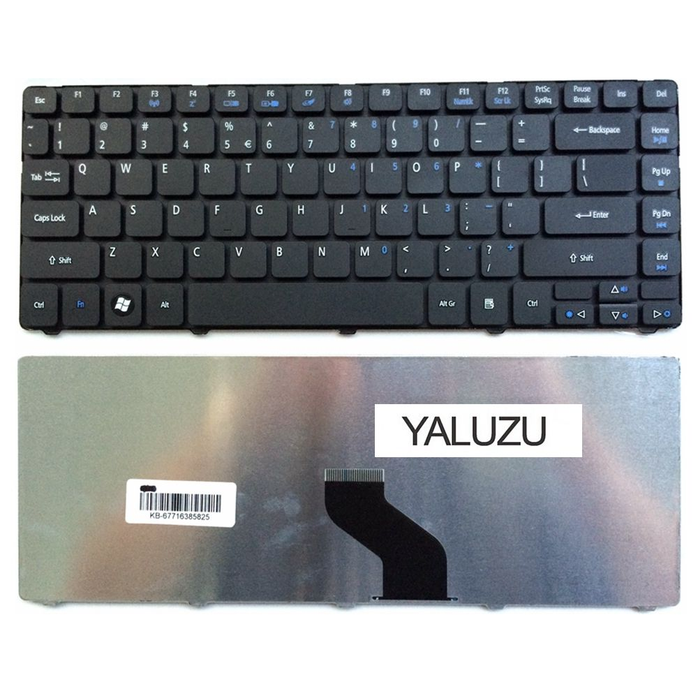 YALUZU NEW keyboard For Acer For <font><b>Aspire</b></font> 4738 4738G 4738Z 4738ZG 4741 4741Z 4741G 4741ZG 4820 4820G <font><b>4820TG</b></font> US laptop keyboard image