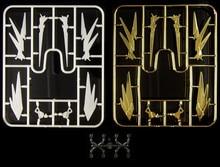 Efectos de antena de cuerno, piezas modificadas para Bandai PG 1/60 RX 0, Unicorn Banshee Phenex Gundam D033