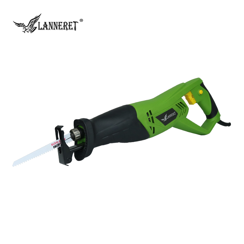 LANNERET 900W Electric Reciprocating Saw Woodworking Metal Cutting Saber Hand Saw Variable Speed Multi-function Power Tools 10pcs jig saw blades reciprocating saw multi cutting for wood metal reciprocating saw power tools accessories rct