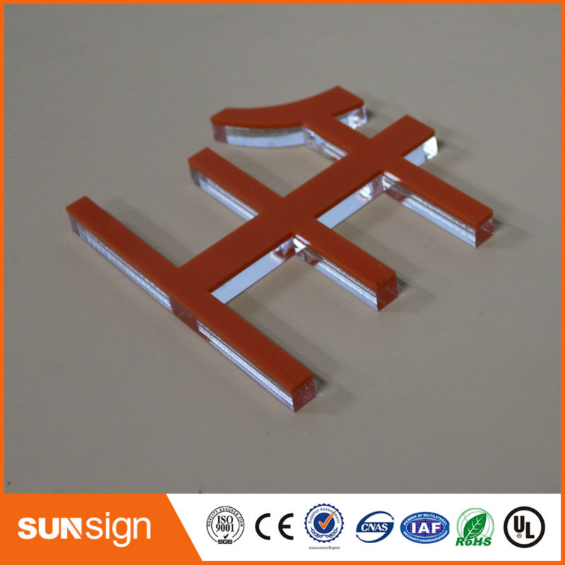 Aliexpress DIY High Transparency Company Decoration Clear Acrylic Letters Signage
