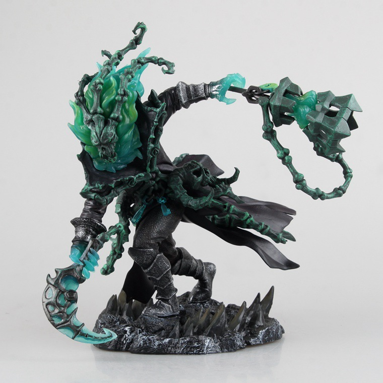 LOL Game League The Chain Warden Thresh Figure Figurine Statue Toy Anime Action Figure Collectible Model Toy of Legends No B цены онлайн