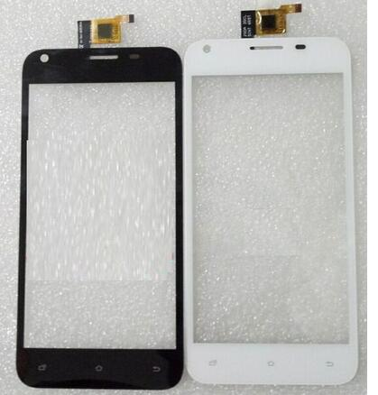 New touch screen For 5 Dex GS-501 gs501 GS 501 Outer Touch panel Digitizer Glass Sensor Replacement Free Shipping new original 5 for cubot p6 touch digitizer sensors outer glass black replacement parts free tracking for cubot p6 lcd touch