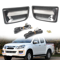 Car LED Driving Daytime Running Lights DRL Fog Lamp Light For Isuzu D MAX 2014 2015 Auto Parts Accessories