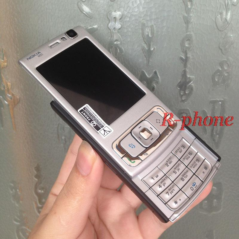 Цена за Оригинал NOKIA N95 Mobile Phone 5MP 3 Г Wi Fi Смартфон Разблокирована Английский Арабский Русская Клавиатура