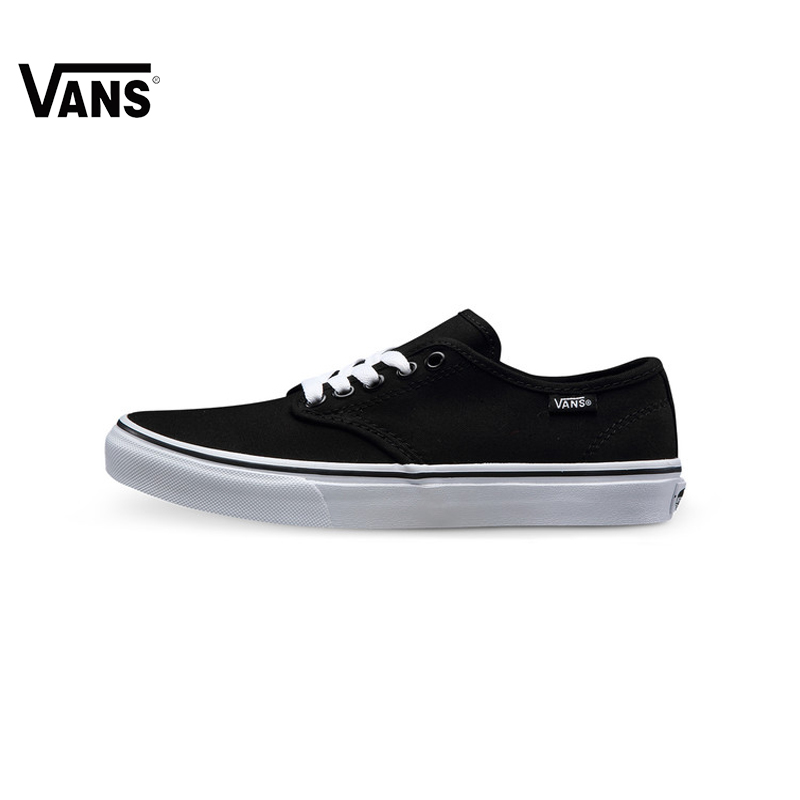 Original Vans New Arrival Active Low-Top Women Skateboarding Shoes Canvas Sports Shoes Sneakers free shipping